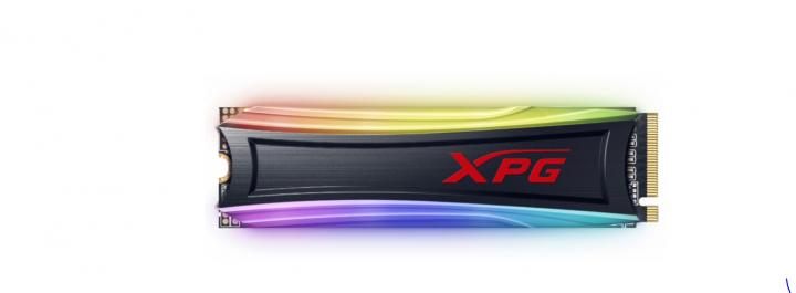 Накопичувач SSD A-DATA SPECTRIX S40G RGB 2 ТБ M. 2 PCI Express 3.0x4 3D NAND, TLC (AS40G-2TT-C) - зображення 1