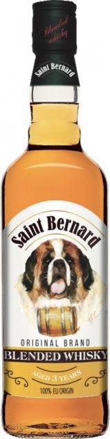 Віскі блендове Saint Bernard 0.7 л 40% (8006063007446) - зображення 1