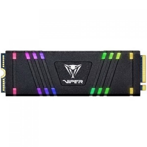 SSD 256GB Patriot VPR100 RGB M. 2 2280 PCIe 3.0 x4 3D TLC (VPR100-256GM28H) - зображення 1