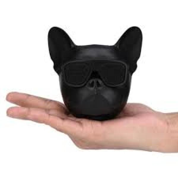 Портативная Bluetooth-колонка Aerobull DOG Head Mini Черный - изображение 1