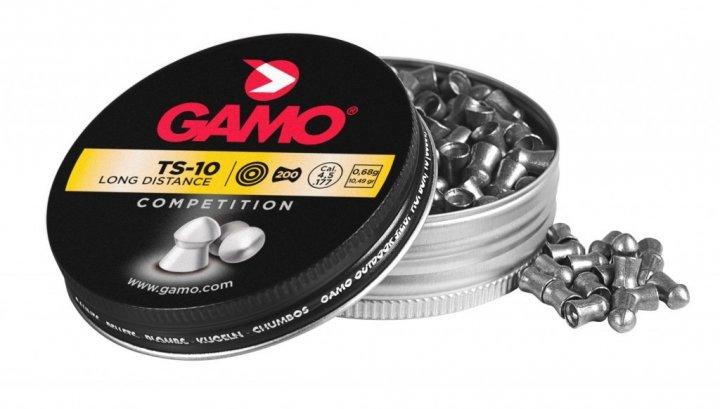 Кулі для пневматичної зброї Gamo TS-10, 200 шт - зображення 1