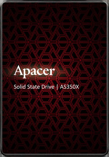 "Apacer AS350X 128GB 2.5"" SATAIII 3D NAND (AP128GAS350XR-1) - изображение 1"
