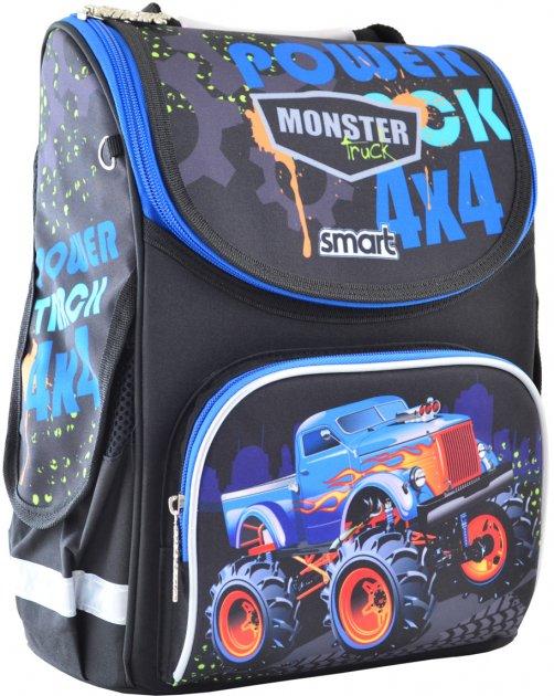 Рюкзак школьный каркасный Smart PG-11 Power 4x4 Мужской (555977) - изображение 1