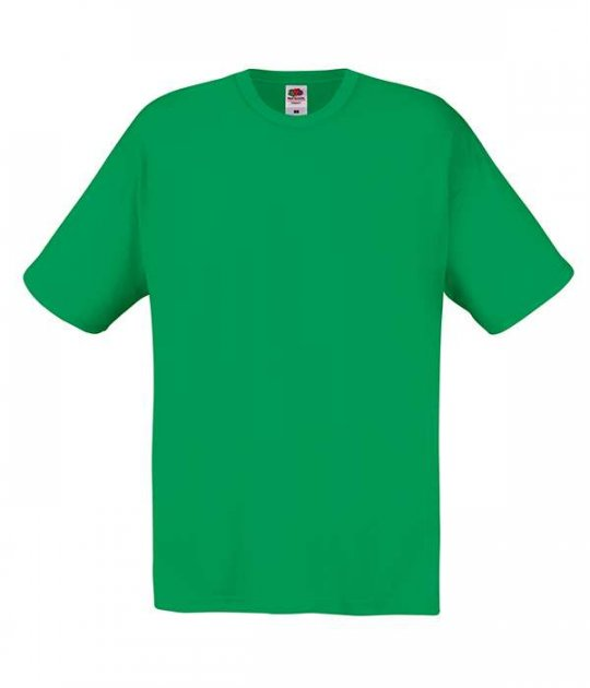Футболка Fruit of the Loom Original T S Ярко-зеленый (061082047S) - изображение 1