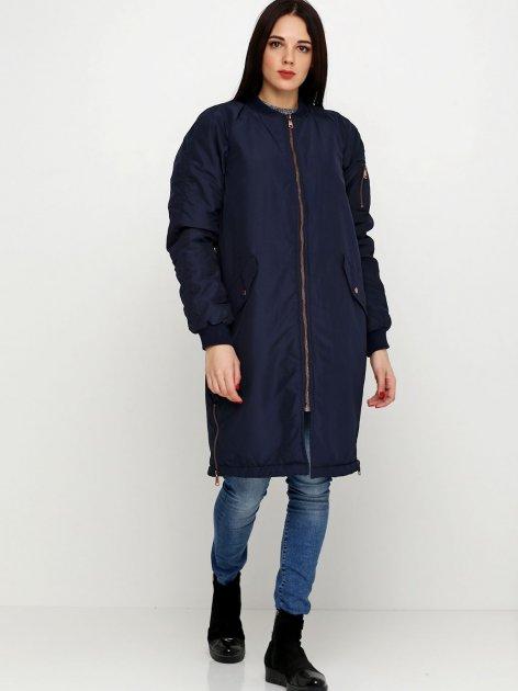 Куртка H&M N4450424 S Темно-синяя (hm00029978353) - изображение 1