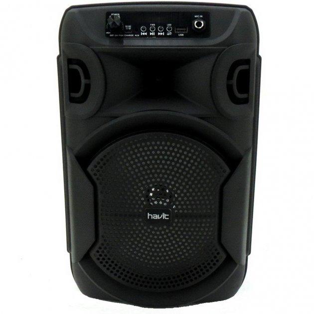 Bluetooth колонка HAVIT HV-SF107BT 8 Вт black с подсветкой - зображення 1