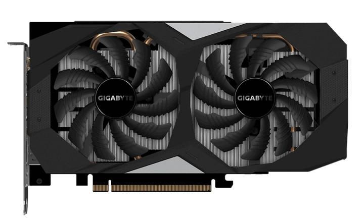 Відеокарта GeForce RTX 2060, Gigabyte, OC, 6Gb DDR6, 192-bit, HDMI/3xDP, 1755/14000 MHz, 8-pin (GV-N2060OC-6GD) - зображення 1