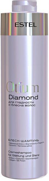 Блиск-шампунь для гладкості та блиску волосся Estel Professional Otium Diamond 1 л (4606453069869) - зображення 1