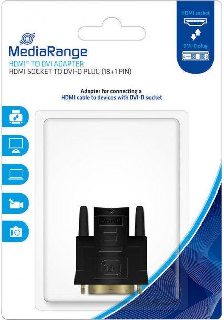 Переходник MediaRange HDMI to DVI-D (MRCS170) - изображение 1