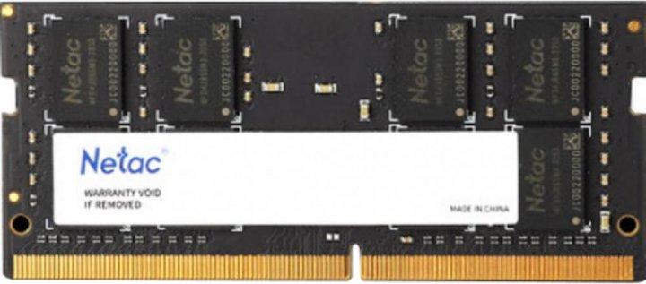 Оперативна пам'ять Netac SO-DIMM DDR4-2666 8192 MB PC4-21300 (NTBSD4N26SP-08) - зображення 1