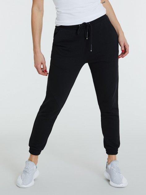 Спортивні штани Piazza Italia 39326-3 M Black (2039326001048) - зображення 1
