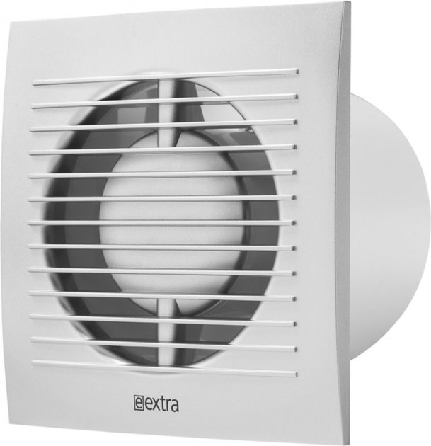 Вытяжной вентилятор Europlast E-EXTRA EE100S серебро - изображение 1