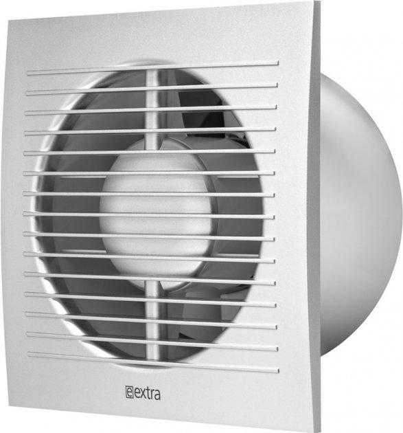 Вытяжной вентилятор Europlast E-EXTRA EE125ТS с таймером серебро - изображение 1