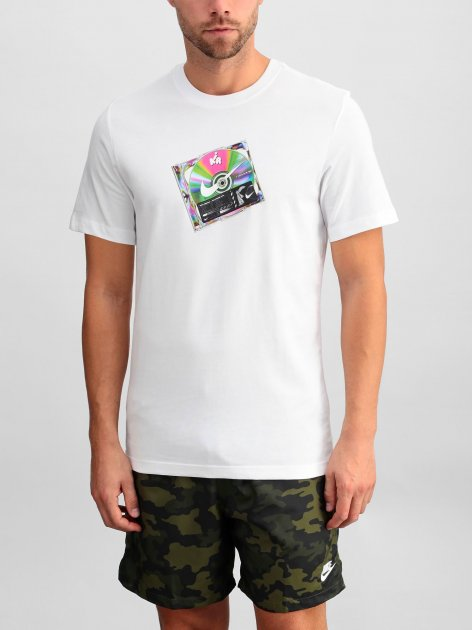 Футболка Nike M Nsw Ss Tee Music Cd CW0402-100 M (194494781337) - изображение 1