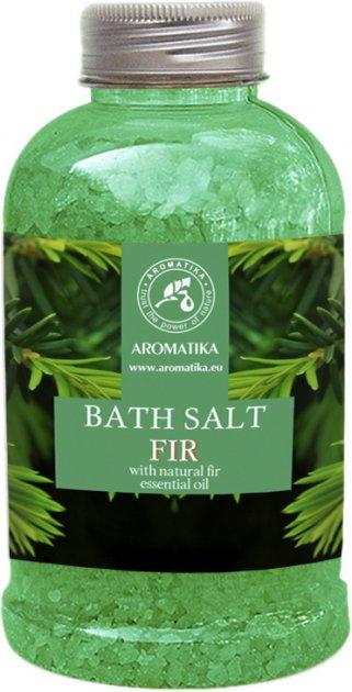 Соль морская для ванн Ароматика Пихта 600 г (4820177022485) - изображение 1