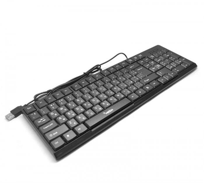 Клавіатура Merlion KB-Zero 05866 Black USB - зображення 1