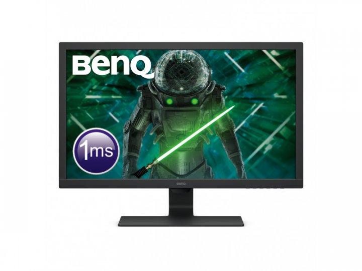Монітор BenQ GL2780 Black (9H.LJ6LB.QBE) - зображення 1