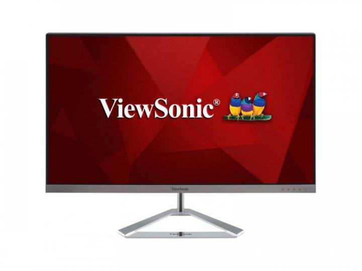 Монітор Viewsonic VX2776-4K-MHD Silver - зображення 1