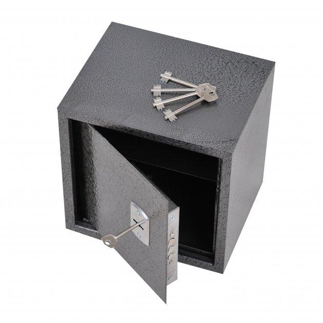 Сейф мебельный Best Buy для денег бумаг документов 20х20х20 см - изображение 1