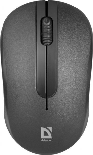 Мышь Defender Datum MM-285 Wireless Black (52285) - изображение 1