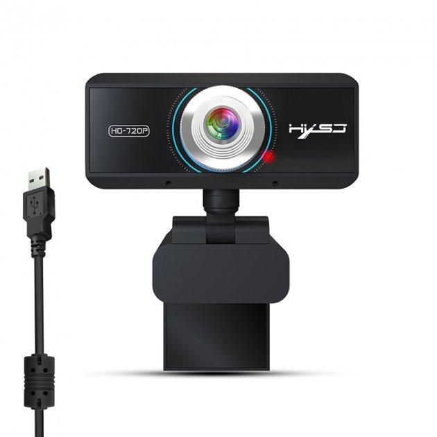 Веб камера HXSJ S-90 с встроенным микрофоном USB 2.0 компьютерная - изображение 1