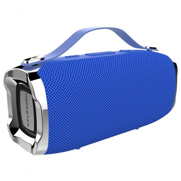 Бездротова потужна bluetooth колонка з функцією Connect plus TWS 1+1 Sound System H36 Hopestar Портативна з Вологозахистом IPX6 і функцією Зарядки пристроїв Синя - зображення 1