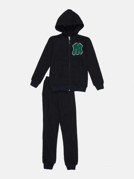 Спортивный костюм Interkids NY 1035 140 см Синий (4821403379014) - изображение 1