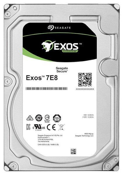 "Жорсткий диск Seagate Exos 7E8 2TB 7200rpm 256MB ST2000NM001A 3.5"" SATA III - зображення 1"
