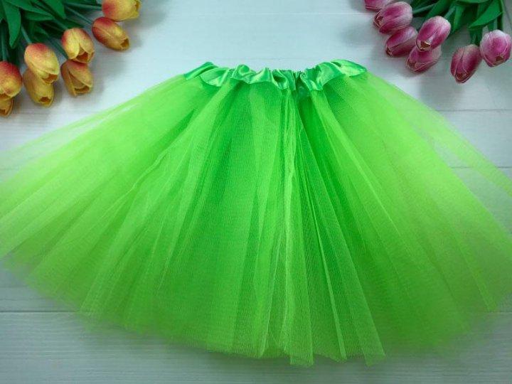 Карнавальная юбка из фатина велюр хлопок