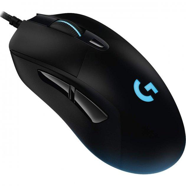 Миша Logitech G403 Gaming Mouse Чорна - зображення 1