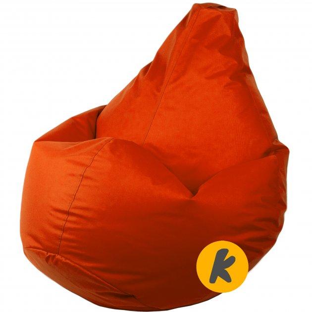 Кресло Груша Kmeshok 130/90 см Оранжевый - зображення 1