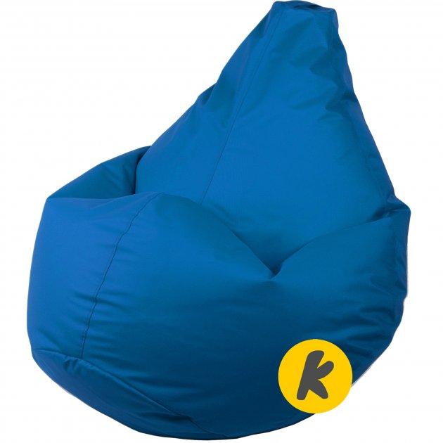 Крісло Груша Kmeshok 130/90 см Синій - зображення 1