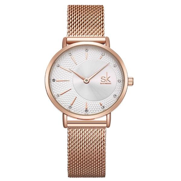 Женские часы Shengke Lady Gold - изображение 1