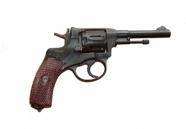 """Макет револьверною системи """"Наган"""" 40-е роки - зображення 1"""
