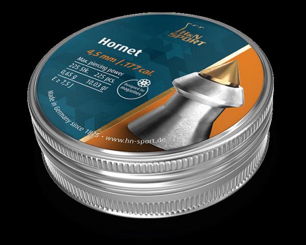 Кулі пневматичні H&N Hornet 0.65 гр 225 шт - зображення 1