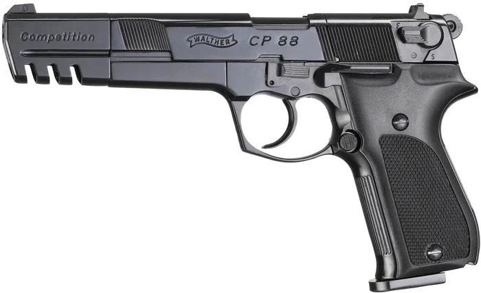"""Пневматический пистолет WALTHER CP88 6"""" Compatition - изображение 1"""
