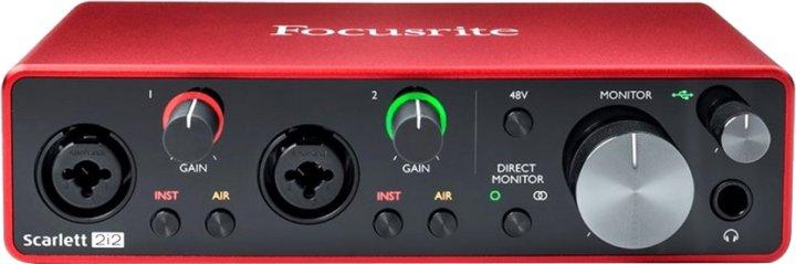 Аудіоінтерфейс Focusrite Scarlett 2i2 3rd Gen (228804) - зображення 1