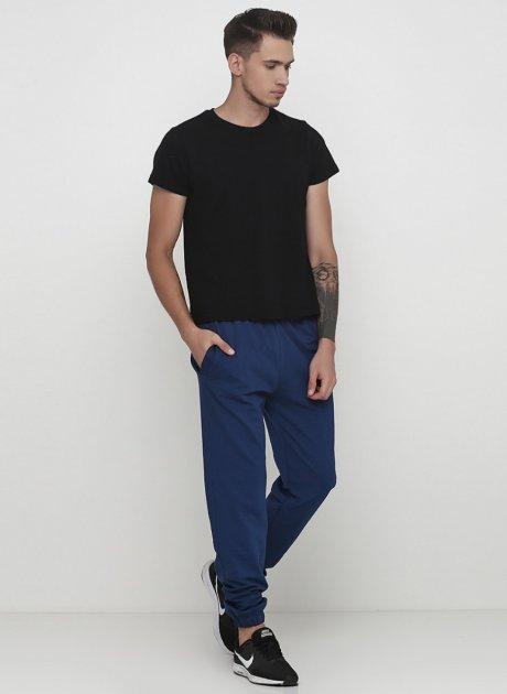 Штани Solo Спортивні L синій джинс Mn851 - зображення 1