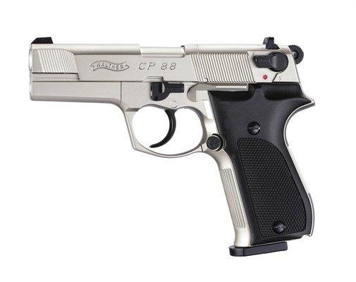 Пневматичний пістолет Umarex Walther CP88 Nickel (416.00.03) - зображення 1