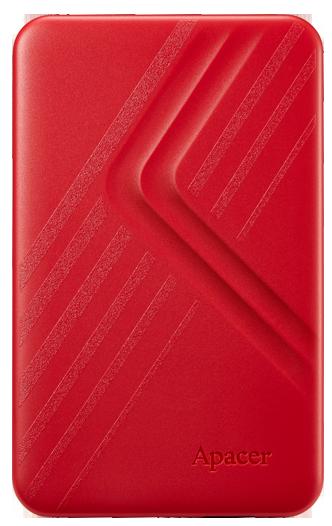 """Жорсткий диск Apacer AC236 1TB 5400rpm 8MB AP1TBAC236R-1 2.5"""" USB 3.1 External Red - зображення 1"""