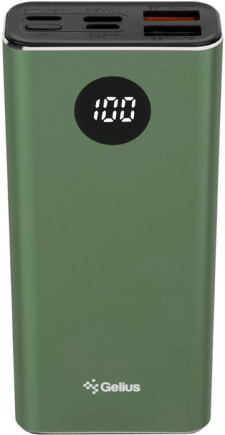 УМБ Gelius Pro CoolMini 2 PD GP-PB10211 9600 mAh Green (2099900826238)