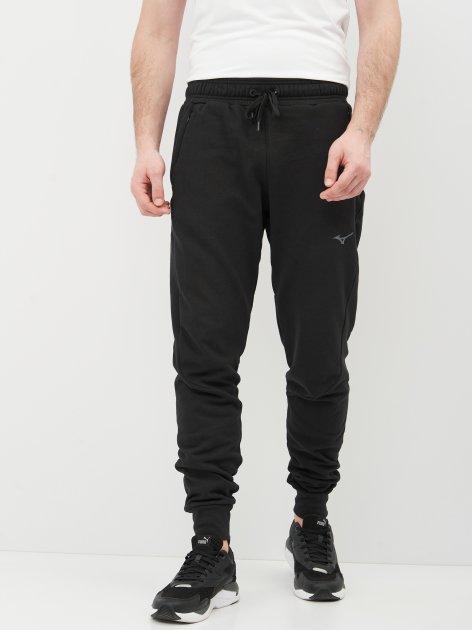 Спортивні штани Mizuno Athletic Rib Pant K2GD050109 M Чорні (5054698962411) - зображення 1