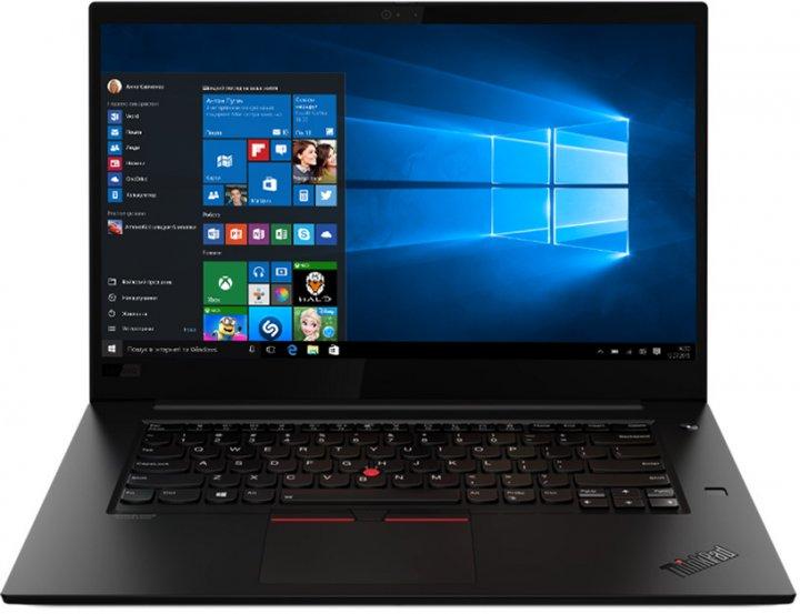 Ноутбук Lenovo ThinkPad X1 Extreme Gen 3 (20TK000RRA) Black - зображення 1