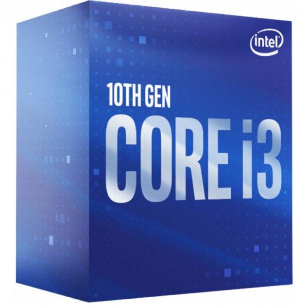 Процесор Intel Core i3-10100F 3.6 GHz/6MB (BX8070110100F) s1200 BOX - зображення 1