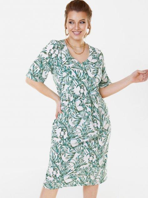 Платье Dressa 53577 52 Белое (2000405732030_D) - изображение 1