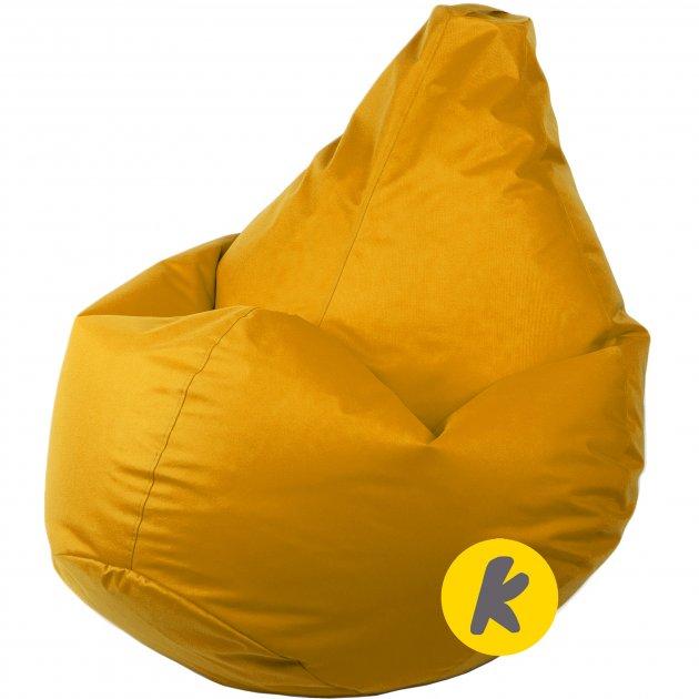 Крісло Груша Kmeshok 130/90 см Жовтий - зображення 1