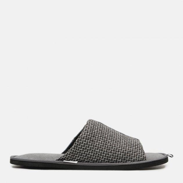 Комнатные тапочки FX shoes 20013 40-41 Серые (2820000010506) - изображение 1