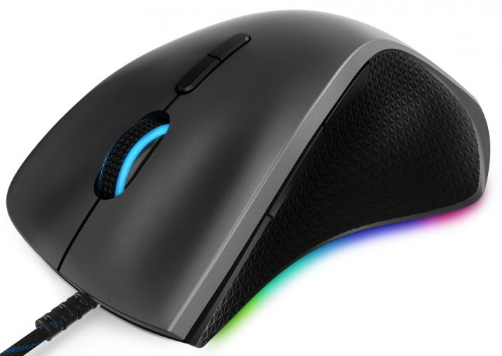Мышь Lenovo Legion M500 Gaming Mouse USB Grey (GY50T26467) - изображение 1