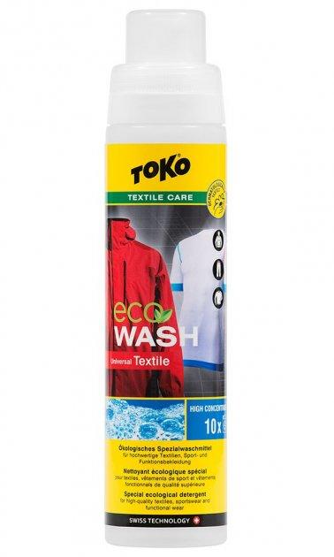 Засіб для прання спортивного одягу Toko Eco Textile Wash 250 ml (5582604) - зображення 1