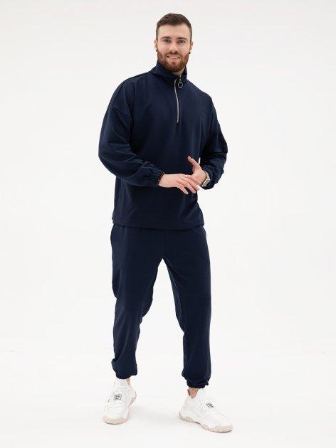 Спортивный костюм ISSA PLUS GN-432_синий XL Синий (issa2001969392234) - изображение 1